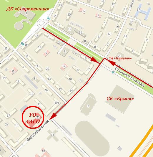 Адрес и схема проезда